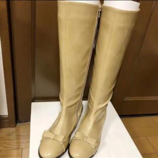 キタムラ(Kitamura)の新品未使用 キタムラ レインブーツ Sサイズ ベージュ 長靴(レインブーツ/長靴)