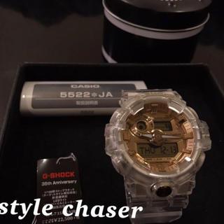 ジーショック(G-SHOCK)の☆レア品☆新品 G-SHOCK 35周年記念モデル GA-735E-7AJR(腕時計(アナログ))
