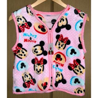 ディズニー(Disney)の【新品未使用】ミッキー ミニー スリーパー ベスト ディズニー ピンク(パジャマ)
