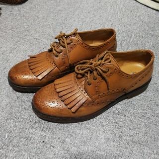 ザラ(ZARA)の緊急値下 超美品  ZARA メンズ 皮靴  サイズ28(ドレス/ビジネス)