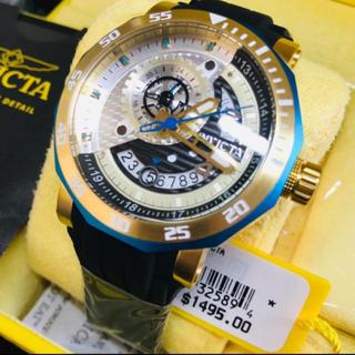 インビクタ(INVICTA)の【1個限定】Invicta メンズ ゴールド Excursion【定価17万円】(腕時計(アナログ))