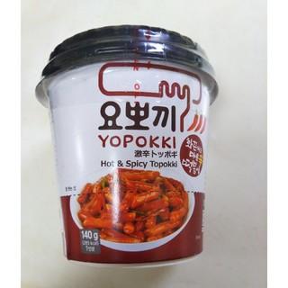 激辛トッポギ(インスタント食品)