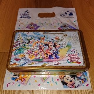 ディズニー(Disney)のディズニー 35周年 グランドフィナーレ クッキー 1缶(菓子/デザート)