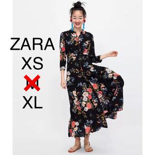 ZARA - SALE!!! ZARA 大人気花柄ロングワンピース