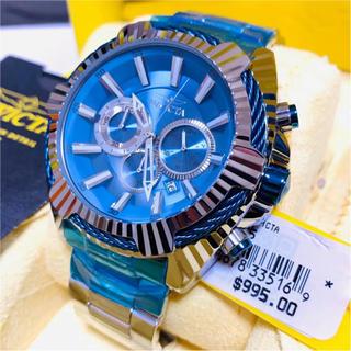 インビクタ(INVICTA)の【シルバー×ブルー】Invicta メンズ  Bolt【定価15万円】 (腕時計(アナログ))