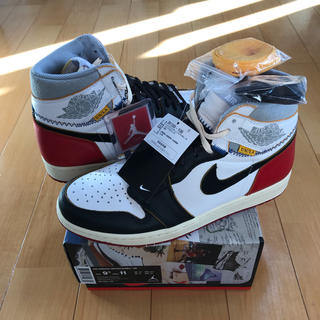 NIKE - 27.5cm AIR JORDAN 1 RETRO OG NRG UNION