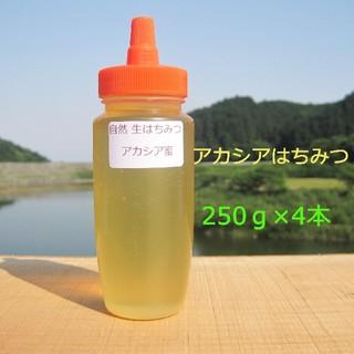 非加熱純粋蜂蜜国産アカシア蜜を2本