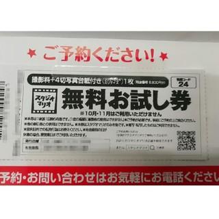 キタムラ(Kitamura)の[専用]スタジオマリオ 無料お試し券 2枚(その他)