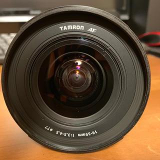 タムロン(TAMRON)のTAMRON AF 19-35mm F/3.5-4.5 A10N Nikon用(レンズ(ズーム))