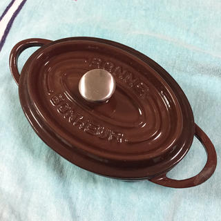 ストウブ(STAUB)のボンボネール 17センチ シックなブラウン(鍋/フライパン)