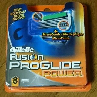 ジレ(gilet)のジレット プログライド フレックスボール パワー用 替刃8個②(メンズシェーバー)