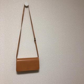 MUJI (無印良品) - 無印良品 ヌメ革のバッグ