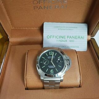 オフィチーネパネライ(OFFICINE PANERAI)のパネライ ルミノールマリーナ PAM00333 40mm ブラック(腕時計(アナログ))