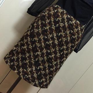 エポカ(EPOCA)のエポカ☆EPOCA  ツイードスカート セミタイト(40)(ひざ丈スカート)
