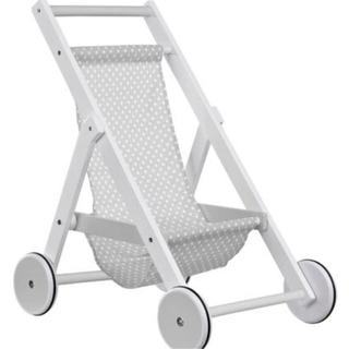 イケア(IKEA)のKids Concept ドール用ベビーカー(手押し車/カタカタ)