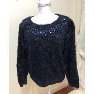 ジーユー(GU)の新品⭐️紙タグ付き GU トロトロ柔らかセーター(ニット/セーター)