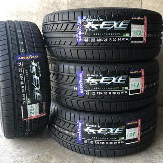 グッドイヤー(Goodyear)の新品 国産 20インチ 225/35R20 4本セット グッドイヤーLSEXE(タイヤ)