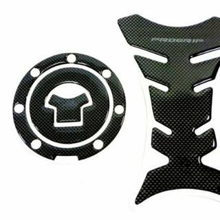 【タンクパッド&キャッププロテクター】カーボン CB1000SF VTR1000(その他)