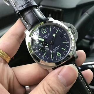 オフィチーネパネライ(OFFICINE PANERAI)のパネライ ルミノール3デイズ GMT 24Hオートマチック アッチャイオ (腕時計(アナログ))