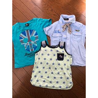 クレードスコープ(kladskap)のrad custom&kladskapの服 100センチ(Tシャツ/カットソー)