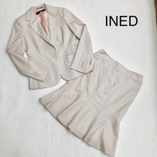 イネド(INED)のイネド *ベージュスーツ(スーツ)