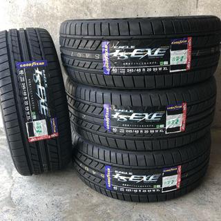 グッドイヤー(Goodyear)の新品 国産 20インチ 245/40R20 4本セット グッドイヤーLSEXE(タイヤ)