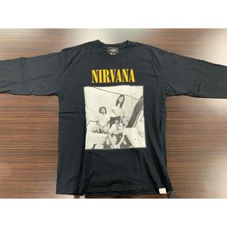 ハーフマン(HALFMAN)のHALFMAN × NIRVANA ハーフマン × ニルヴァーナ ロングTシャツ(Tシャツ/カットソー(七分/長袖))