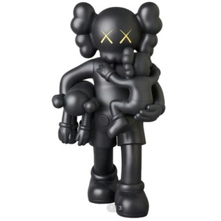 MEDICOM TOY - KAWS CLEAN SLATE BLACK