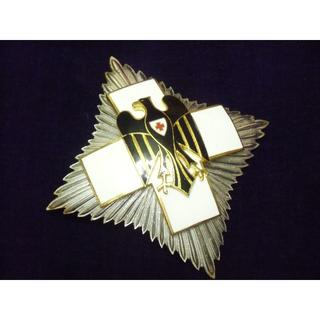 BW/ドイツ連邦軍*1957年制定*赤十字名誉十字勲章星章(実物)(その他)