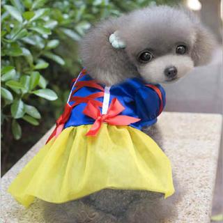 ディズニー(Disney)の白雪姫 コスチューム 犬服(犬)
