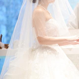タカミ(TAKAMI)のTAKAMI BRIDAL タカミブライダル ミドル ビジュー ベール(ヘッドドレス/ドレス)