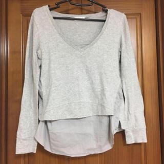 バラク(Barak)のBarak☆重ね着風ロンT(Tシャツ(長袖/七分))