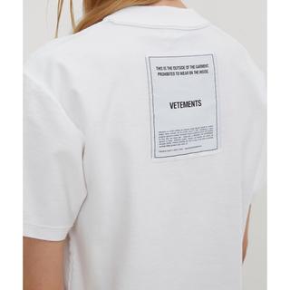 ヴェトモン インサイドアウト Tシャツ 正規品