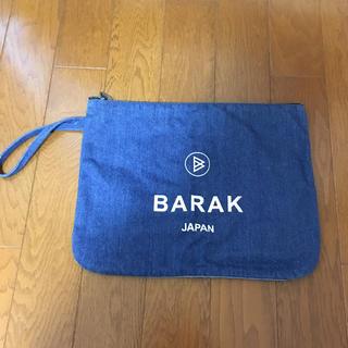 バラク(Barak)のBarak☆ノベルティ☆オリジナルデニムクラッチバック(クラッチバッグ)