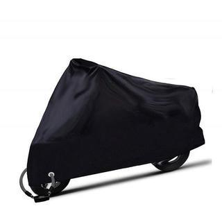 大型バイクカバー UVカット 風飛び防止 鍵穴付き(その他)