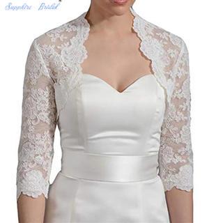 新品♡ブライダルボレロ 結婚式(ウェディングドレス)