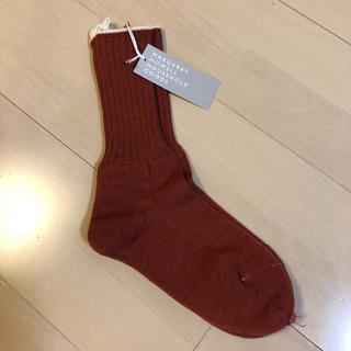 MARGARET HOWELL - 新品タグ付き マーガレットハウエル ウール靴下