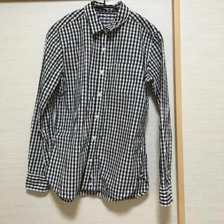 MUJI (無印良品) - ギンガムチェックシャツ