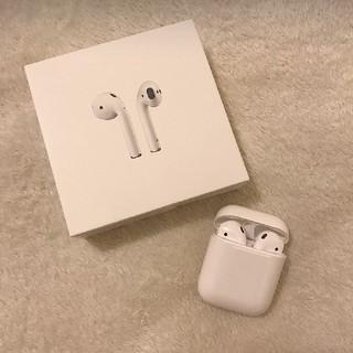 Apple - AirPods アップル ワイヤレス イヤホン エアポッズ