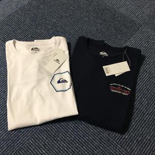 クイックシルバー(QUIKSILVER)の✨新品✨Tシャツ 長袖 メンズ クイックシルバー 「L」サイズ 2枚セット(Tシャツ/カットソー(七分/長袖))