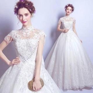 花嫁フォーマルドレス ウエディングドレス ロングドレス 演奏会 結婚式(ウェディングドレス)