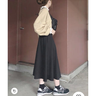 GU - 美品 GU ミディフレアスカート