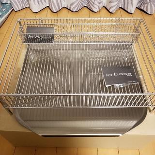 ラバーゼ 水切りかご大  縦置きタイプ(DLM-8585)(キッチン収納)