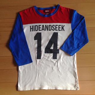 ハイドアンドシーク(HIDE AND SEEK)のHIDE AND SEEK  メンズS 七分袖(Tシャツ/カットソー(七分/長袖))