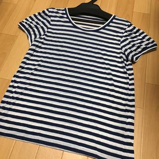 ジェーンマープル(JaneMarple)のジェーンマープル Jane Marple ボーダー カットソー Tシャツ(Tシャツ(半袖/袖なし))