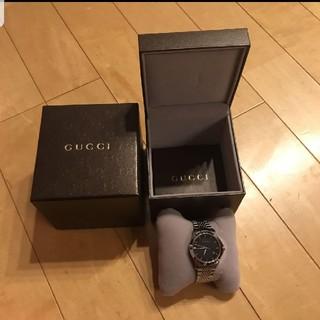 グッチ(Gucci)のGUCCI メンズ腕時計 YA126402(腕時計(デジタル))