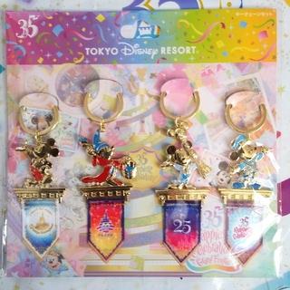 Disney - 完売 ディズニーランド 35周年 グランドフィナーレ ミッキー キーチェーン