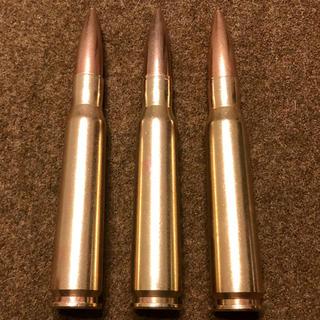 装飾ディスプレイ用 自衛隊 12.7mm ダミーカート 3個(モデルガン)