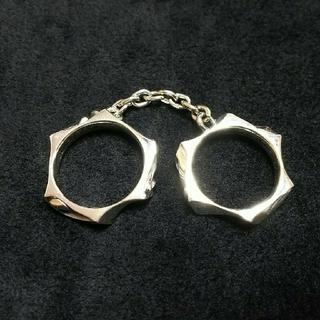 ディールデザイン(DEAL DESIGN)のDEAL DESIGN ツイスト カフ リング 中古美品 シルバー925(リング(指輪))