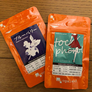 【ogaland】γ-トリフェコノール・ブルーベリー(ビタミン)